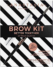 Düfte, Parfümerie und Kosmetik Make-up Set (Augenbrauenstift 0.08g + Augenbrauengel 2.5g) - Anastasia Beverly Hills Better Together Brow Kit Soft Brown