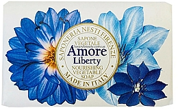 Düfte, Parfümerie und Kosmetik Pflegende Seife mit Bergamotte, Vetiver- und Seeroseduft - Nesti Dante Amore Liberty Nourishing Vegetable Soap