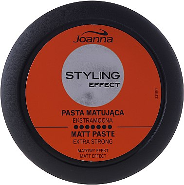 Modellierende Haarpaste mit Matt-Effekt Extra starker Halt - Joanna Styling Effect Extra Strong Matt Paste — Bild N1