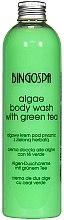 Düfte, Parfümerie und Kosmetik Erfrischendes Duschgel mit Algen und grünem Tee - BingoSpa Algae Energizing Body Wash Whit Green Tea