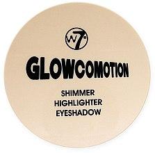 Düfte, Parfümerie und Kosmetik 3in1 Highlighter, Glitterpuder und Lidschatten - W7 Glowcovotion Shimmer Highlighter and Eyeshadow Compact