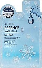 Düfte, Parfümerie und Kosmetik Kühlende Gesichtsmaske mit Kastanienextrakt - SeaNtree Ice Fresh Essence Mask Sheet