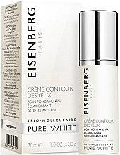 Düfte, Parfümerie und Kosmetik Anti-Aging Creme für die Augenpartie - Jose Eisenberg Pure White Eye Contour Cream