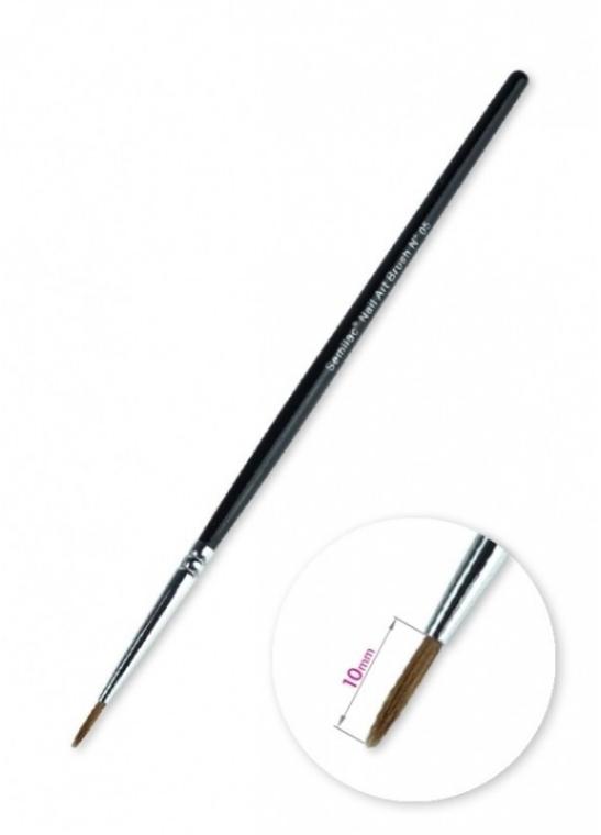 Nageldesign Pinsel N 05 - Semilac Nail Art Brush N05 — Bild N3