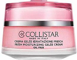 Düfte, Parfümerie und Kosmetik Erfrischende und feuchtigkeitspendende Gelee-Creme für das Gesicht - Collistar Crema Gelee Indratazione Fresca