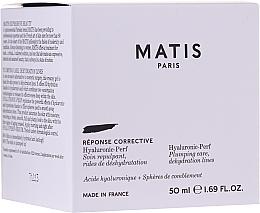 Düfte, Parfümerie und Kosmetik Anti-Falten Gesichtscreme mit Hyaluronsäure - Matis Hyaluronic-Perf Plumping Care