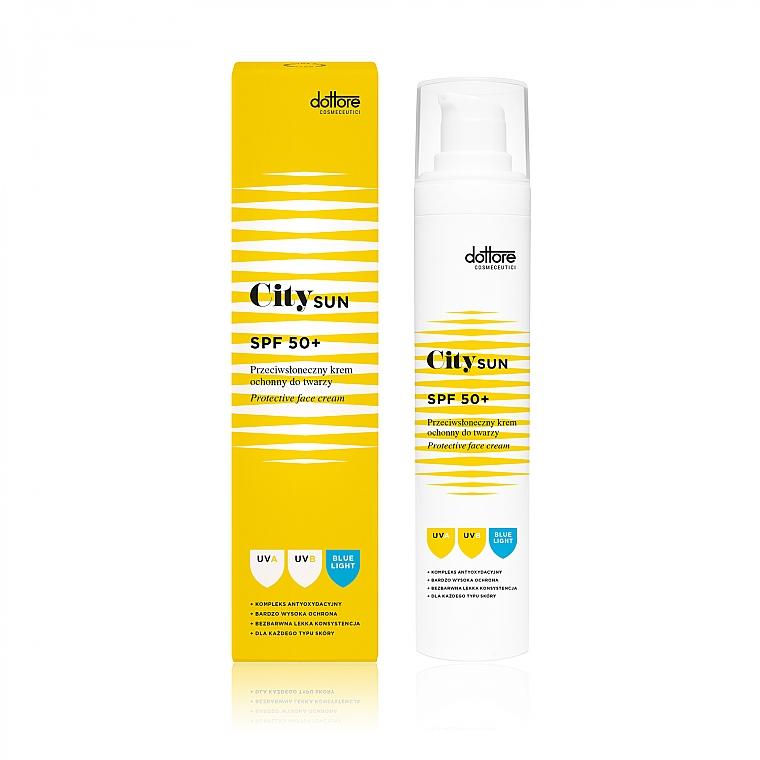 Sonnenschutzcreme für das Gesicht SPF 50+ - Dottore City SUN SPF 50+ — Bild N1