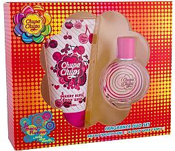 Düfte, Parfümerie und Kosmetik Chupa Chups Cherry Burst - Duftset (Eau de Toilette 50ml + Duschgel 150ml)
