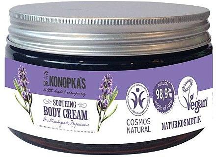 Beruhigende Körpercreme mit Bio Lavendelöl - Dr. Konopka's Soothing Body Cream — Bild N1
