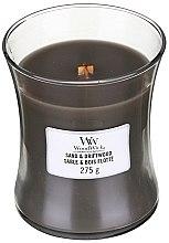 Duftkerze im Glas Sand & Driftwood - WoodWick Hourglass Candle Sand & Driftwood — Bild N5
