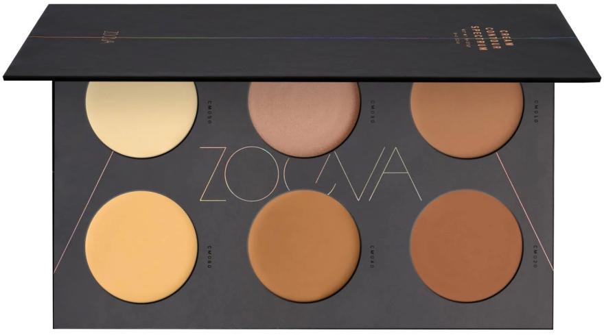 Konturpalette für das Gesicht - Zoeva Cream Contour Spectrum Palette — Bild N1