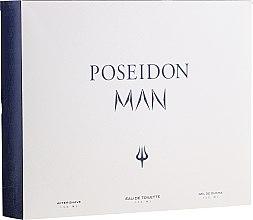 Düfte, Parfümerie und Kosmetik Instituto Espanol Poseidon - Duftset (Eau de Toilette 150ml + After Shave Balsam 150ml + Duschgel 150ml)