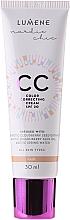 CC Creme mit arktischem Moltebeerenextrakt und Preiselbeersamenöl LSF 20 - Lumene CC Color Correcting Cream — Bild N2