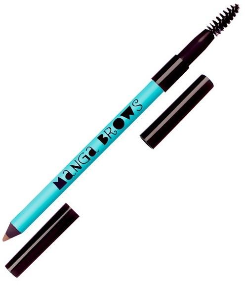 Doppelseitiger Augenbrauenstift - Neve Cosmetics Manga Brows — Bild N1