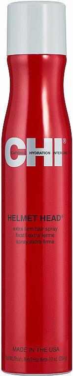 Haarlack Extra starker Halt - CHI Helmet Head Extra Firm Hair Spray — Bild N1