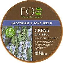 Düfte, Parfümerie und Kosmetik Meesalz Körperpeeling Smoothness & Tonus - ECO Laboratorie Natural & Organic Smoothness & Tonus Scrub