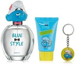 Düfte, Parfümerie und Kosmetik Marmol & Son The Smurfs Vanity - Duftset (Eau de Toilette 100ml + Duschgel 75ml + Schlüsselanhänger)