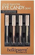 Düfte, Parfümerie und Kosmetik Flüssige Lidschatten - Bellapierre Liquid Shadow Eye Candy Quad (eyesh/4x3.3ml)