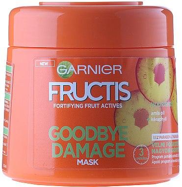 Haarmaske für geschädigtes Haar mit Amla-Öl und Keraphyll - Garnier Fructis Good Bye Damage Hair Mask — Bild N1