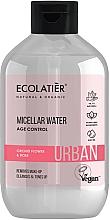 Düfte, Parfümerie und Kosmetik Mizellenwasser zum Abschminken mit Orchidee und Rose - Ecolatier Urban Micellar Water Age Control