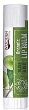 Düfte, Parfümerie und Kosmetik Bio-Lippenbalsam mit Olive - Wooden Spoon Lip Balm Olive Kiss