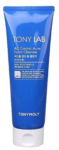 Gesichtswaschschaum für fettige, empfindliche und zu Akne neigende Haut - Tony Moly Tony LAB AC Control Acne Cleansing Foam