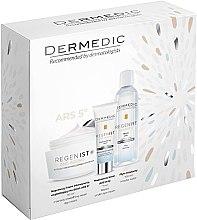Düfte, Parfümerie und Kosmetik Gesichtspflegeset - Dermedic Regenist Anti-Ageing Ars 5 (Gesichtscreme 50ml + Augencreme 7ml + Mizellenwasser 100ml)