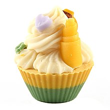 Düfte, Parfümerie und Kosmetik Handgemachte Naturseife Cupcake Tropical Fruits - Bosphaera Tropical Fruits Soap