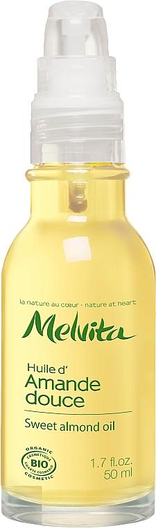 Süßmandelöl für das Gesicht - Melvita Huiles De Beaute Sweet Almond Oil — Bild N2