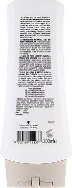 Haarspülung für fettiges Haar - Schwarzkopf Gliss Kur Purify & Protect Conditioner — Bild N2