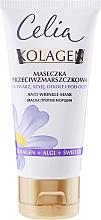 Düfte, Parfümerie und Kosmetik Anti-Falten Gesichtsmaske - Celia Collagen Mask