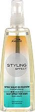 Düfte, Parfümerie und Kosmetik Haarspray mit Meersalz für alle Haartypen - Joanna Styling Effect Fluorescent Line Texturizing Salt Spray