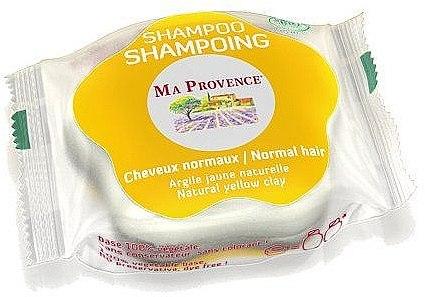 Bio Shampoo für normales Haar mit gelber Tonerde - Ma Provence Shampoo — Bild N1