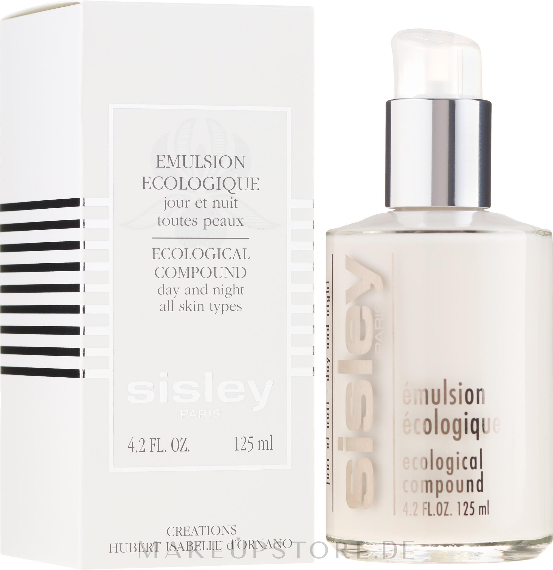 Gesichtsemulsion für Tag und Nacht für alle Hauttypen - Sisley Emulsion Ecologique Ecological Compound — Bild 125 ml