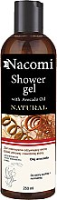 Düfte, Parfümerie und Kosmetik Duschgel mit Avocadoöl - Nacomi Natural With Avocado Oil Shower Gel