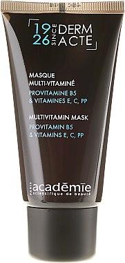 Gescihtsmaske mit Provitamin B5 und Vitaminen E, C, PP - Academie Derm Acte Multivitamin Mask Provitamine B5 & vitamines E,C,PP  — Bild N2