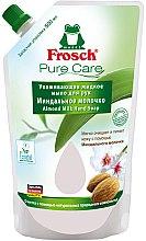 Düfte, Parfümerie und Kosmetik Frosch Pure Care Liquid Soap - Handseife mit Mandelnöl (Doypack)