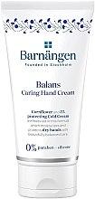 Düfte, Parfümerie und Kosmetik Pflegende glättende und feuchtigkeitsspendende Handcreme für trockene Haut - Barnangen Balans Caring Hand Cream