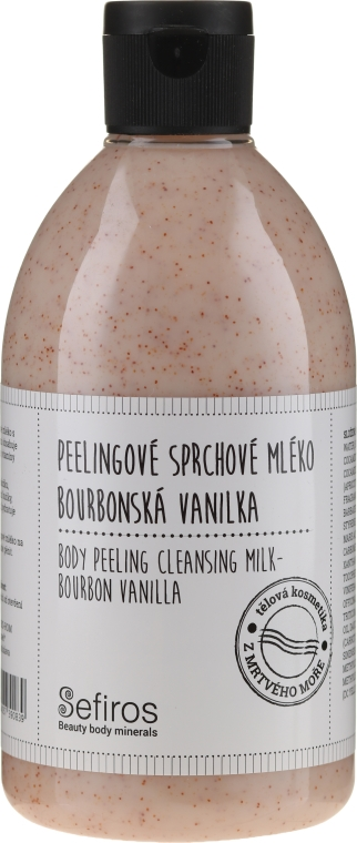 "Duschmilch "" Macadamia und Kakao"" - Sefiros Body Peeling Cleansing Milk Bourbon Vanilla — Bild N1"