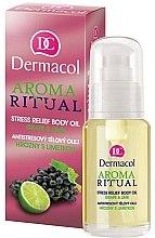 Düfte, Parfümerie und Kosmetik Anti-Stress Körperöl mit Traube und Limette - Dermacol Body Aroma Ritual Stress Relief Body Oil