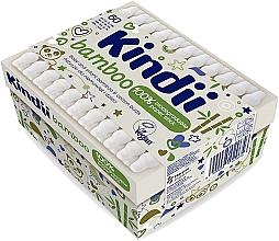 Düfte, Parfümerie und Kosmetik Wattestäbchen für Babies und Kinder - Kindii Bamboo Cotton Buds