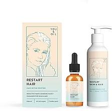 Düfte, Parfümerie und Kosmetik Haarpflegeset - You & Oil (Haarmaske 30ml + Reinigungsmittel für Haut und Haare 150ml)