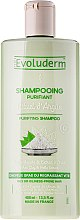 Düfte, Parfümerie und Kosmetik Shampoo für fettiges Haar mit weißem Tonextrakt und Brennnessel - Evoluderm Purifiant Rituel d'Argile Shampoo