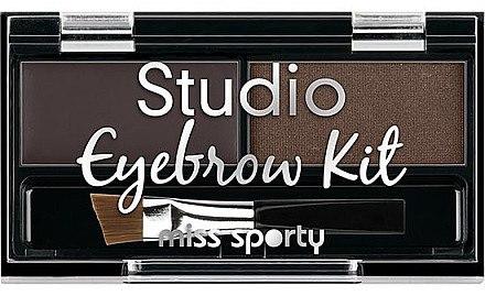 Schminkpalette für Augenbrauen - Miss Sporty Studio Eyebrow Kit (2.4 g) — Bild N1