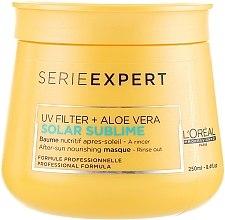 Düfte, Parfümerie und Kosmetik Haarmaske mit Aloe Vera und UV-Filter - L'oreal Professionnel Serie Expert Solar Sublime UV Filter + Aloe Vera