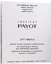 Düfte, Parfümerie und Kosmetik Pflegeset für Gesicht und Hals - Payot Pro Absolute Lift (Gesichtsmaske 5St. + Halsmaske 5St.)