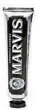 Düfte, Parfümerie und Kosmetik Zahnpasta (Mini) - Marvis Dentif Amarelli Licorice