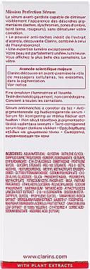 Gesichtsserum - Clarins Mission Perfection Serum — Bild N3