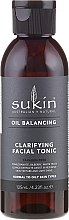 Düfte, Parfümerie und Kosmetik Reigendes Gesichtstonikum - Sukin Oil Balancing Clarifying Facial Tonic