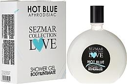 Düfte, Parfümerie und Kosmetik Duschgel - Sezmar Collection Love Hot Blue Aphrodisiac Shower Gel